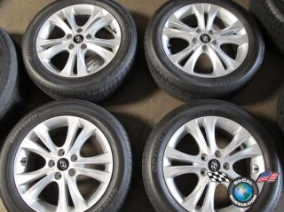 09 11 Hyundai Sonata Factory 17 Wheels Tires OEM Rims 70803