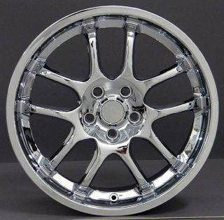 18 Chrome Rims Fit Infiniti G35 Sedan Nissan 350Z Rims Fit Infiniti