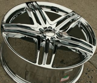 Menzari Z12 20 Chrome Rims Wheels Acura MDX RDX 20 x 8 5 5H 35