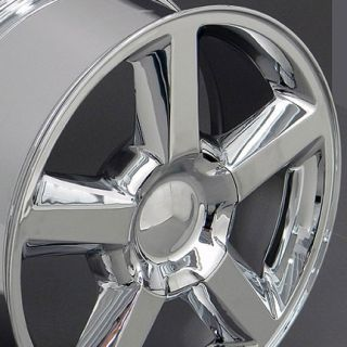 20 Chrome Tahoe Suburban Wheels Tires Fits Chevrolet