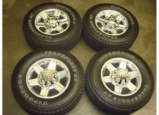 RAM 2500 3500 LARAMIE HD Wheels Rims TIRES OEM ALLOY Factory POLISHED