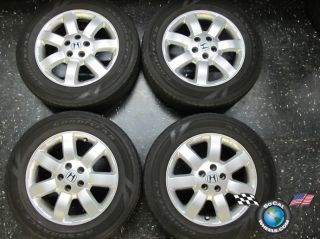 Four 07 11 Honda CR V CRV 17 Factory Wheels Tires Rims Stock 64010