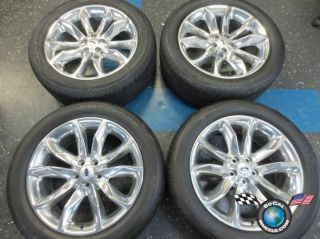 2011 13 Ford Explorer Factory 20 Wheels Tires OEM Rims Polished 255/50