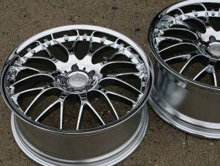 ADR M CLASSIC 20 CHROME RIMS WHEELS INFINITI G35 COUPE / 20 x 8.5/9.5