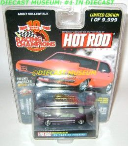1968 68 Pontiac Firebird Hot Rod Magazine Diecast RARE