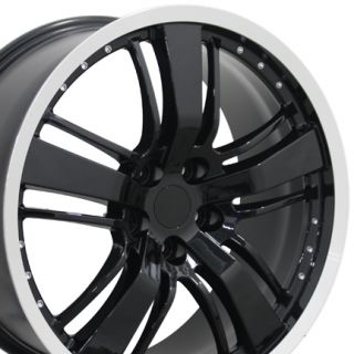 20 Camaro SS 2 Replica Wheel Black Machined Lip Fits Chevrolet
