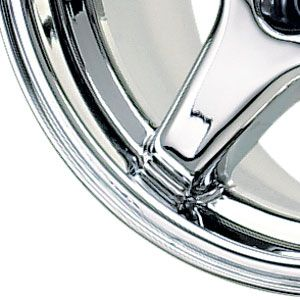 New 17x11 5x120 65 Replica Chrome Wheels Rims