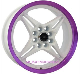 16 16x7 Rota Rims Auto x Civic Del Sol CRX Accord Fit