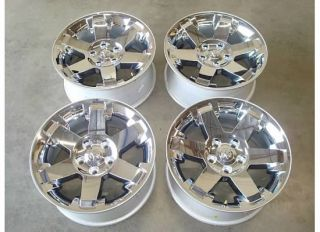Dodge RAM 1500 HEMI CHROME Wheels Rims OEM Laramie LONGHORN Factory 12