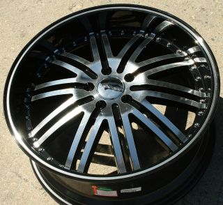 Z08 20 Black Rims Wheels Honda Accord 03 Up 20 x 8 5 5H 38