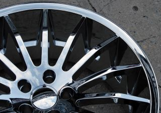 Giovanna Martuni 22 Chrome Rims Wheels M45 Staggered