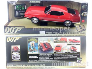 James Bond 007 Diamonds Are Forever Ford Mustang Mach 1 1 14 RC Remote