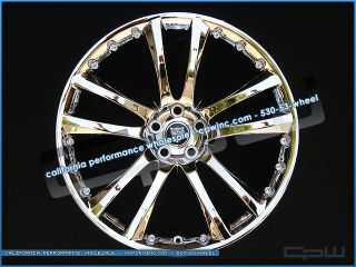 Jaguar XF Chrome Wheels Rims Senta II 20 Fits All 2007 2012 Models