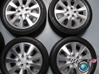 Honda Accord Factory 17 Wheels Tires OEM Rims Civic 63919 215/50/17