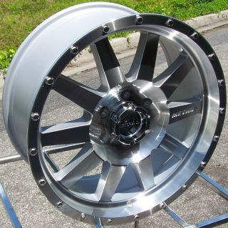 18 Method Wheels Rims Chevy Dodge 2500 3500 HD 8LUG