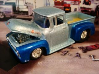 Hot Wheels 56 Ford F100 Stepside Streeter 1 64 Scale Limited Edit 2