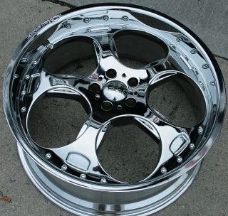 Giovanna Brake 22 Chrome Rims Wheels Benz S320