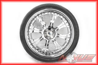 Luxury Chrome Land Rover Freelander Wheels Tires 20 24 18