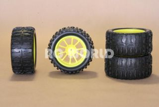 THESE TRUCK TIRES WILL FIT ANY 1/10 SCALE TRUCK, CAR, OR TRUGGY.