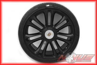 CADILLAC ESCALADE PLATINUM BLACK WHEELS TIRES GMC DENALI TAHOE 20 24