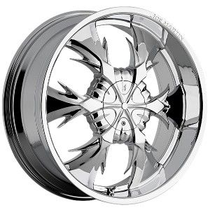 Bros. Iceman Chrome Wheels Rims 5x135 F150 97 03 Expedition 97 03