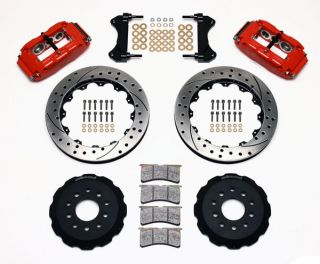 Wilwood Disc Brake Kit Front 98 02 Camaro Firebird 13 Drilled Rotors