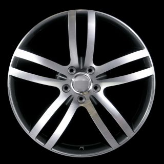 22 Q7 Style Wheels Rims 5x130 Dark Grey Polish for Audi Q7 Cayenne