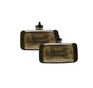 Pilot Automotive NV 102 Navigator Fog Light Black Housing Amber