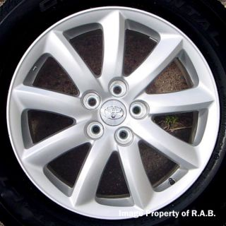 18 Toyota Highlander Venza RX350 Wheels Snow Tires
