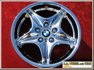 New 17 BMW M Roadster Coupe Chrome Wheels Rims Exchange 59263