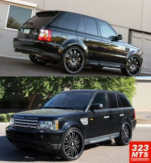 24 inch Wheels Versante VE225 Land Rover Wheels 5x120