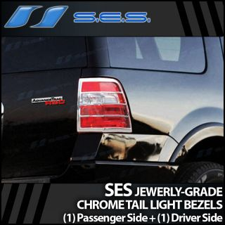 2007 2013 Ford Expedition Ses Chrome Tail Light Bezels