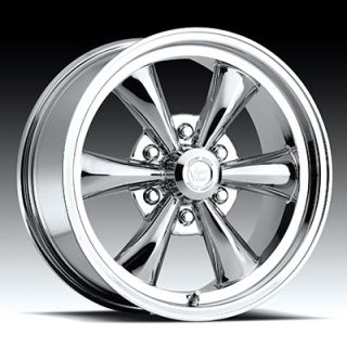 18 x8 5 Vision Legend 6 142 Chrome 6 Lug Wheels Rims