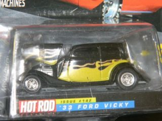 Racing Champions Hot Rod Magazine 142 33 Ford Vicky