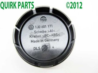 VW Volkswagen Alloy Wheel Center Cap Replacement GENUINE OEM NEW Jetta