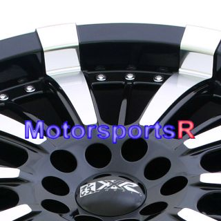 18 XXR 510N Black Rims Wheels 07 08 09 Mazda 6 929 MX6