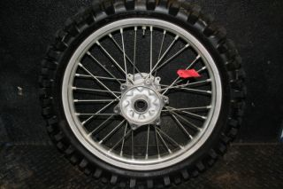 CRF450 CRF 450 CRF250 Rear Wheel Hub Rim Spokes