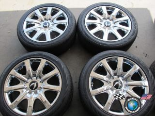 2011 Hyundai Equus Factory Chrome 19 Wheels Tires OEM Rims Genesis