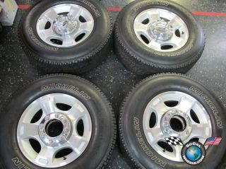 F250 F350SD Factory 18 Wheels Tires OEM Rims Michelin 275/60/18 3790
