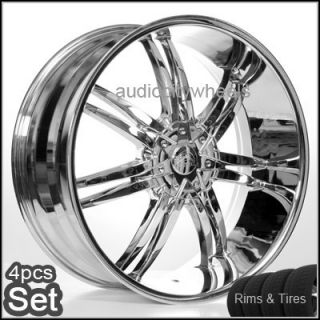 22 inch Wheels and Tires Rims 300C Magnum Charger S10