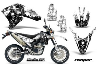AMR Racing Off Road Background Graphic Wrap Kit Yamaha WR 250 x R 07