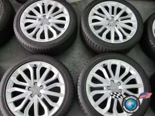 2012 Audi A6 Factory 19 Wheels Tires OEM Rims GoodYear 255/40/19 S6 A8