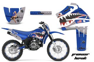 AMR Racing Off Road Number Plate Sticker MX Graphic Kit Yamaha TTR 125