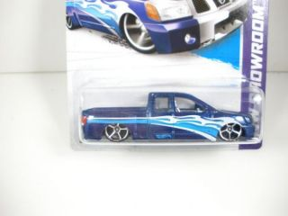 2013 Hot Wheels Showroom Nissan Titan Carded Loose