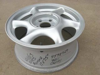 Aurora Factory 17 Aluminum Alloy Wheel   2001 2002 2003   17x7.5 Rim
