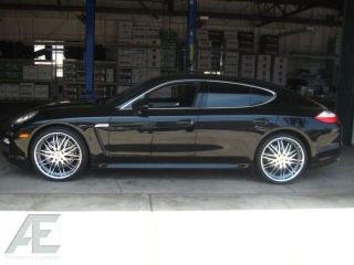 22 Porsche Wheels Rim Tires Panamera 4S Cayenne Turbo