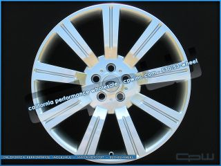 22 inch Silver Stormer II Wheels Rims Fits Range Rover Land Rover LR4