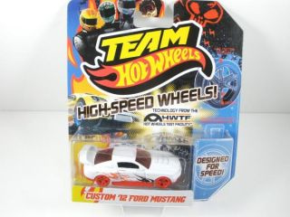 Team Hot Wheels High Speed Wheels Custom 12 Ford Mustang