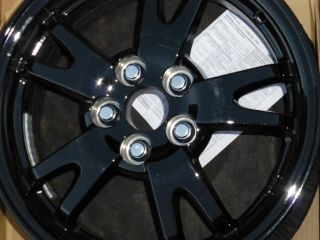 of 2011 2012 Toyota Prius Corolla Factory Black 15 Wheels Rims