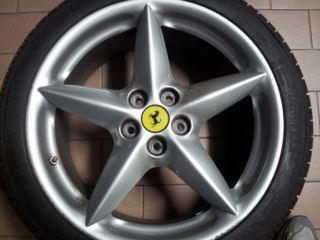 Alloy Wheels Center Caps Ferrari 308 328 348 355 412 550 Genuine